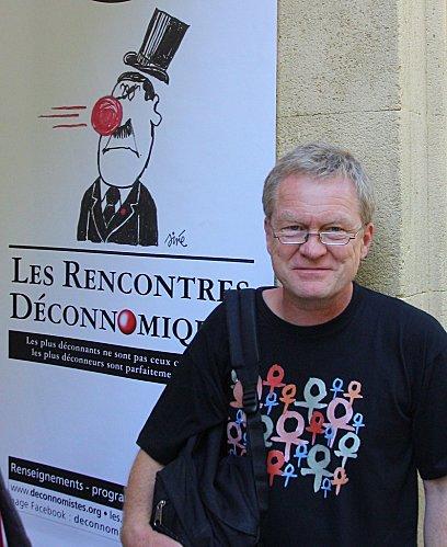 Achim Gertz aux Rencontres Déconomiques d'Aix en Provence  (juillet 2012)