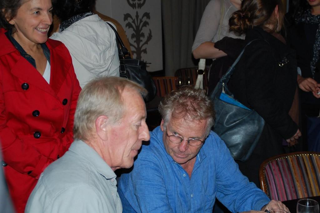 Bertrand Rio et Dany Cohn-Bendit (octobre 2012)