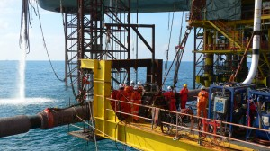Forage offshore
