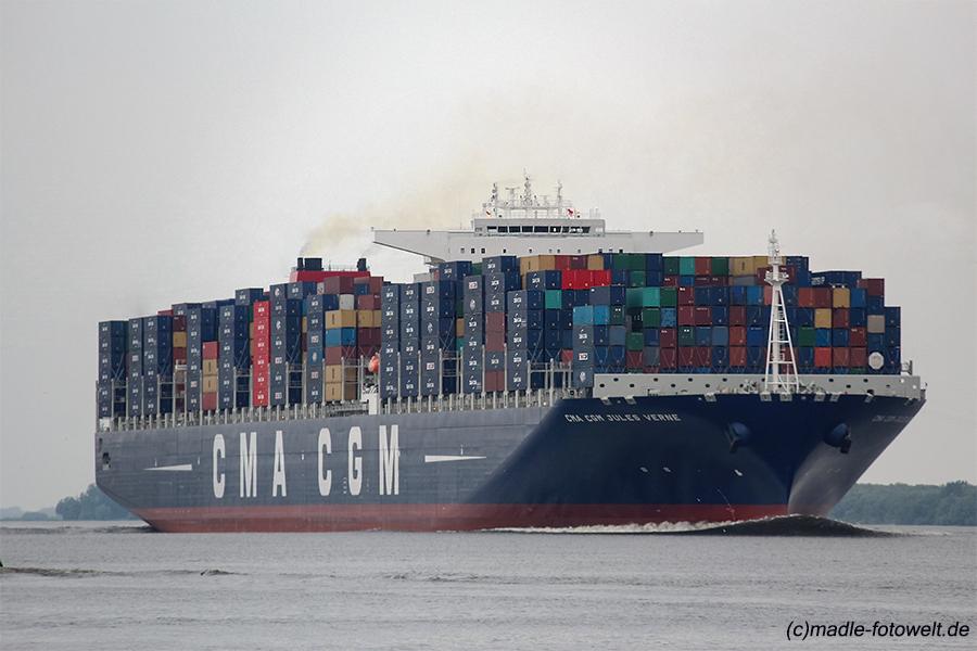 Porte conteneurs halte au gigantisme - Le plus grand porte conteneur du monde au havre ...