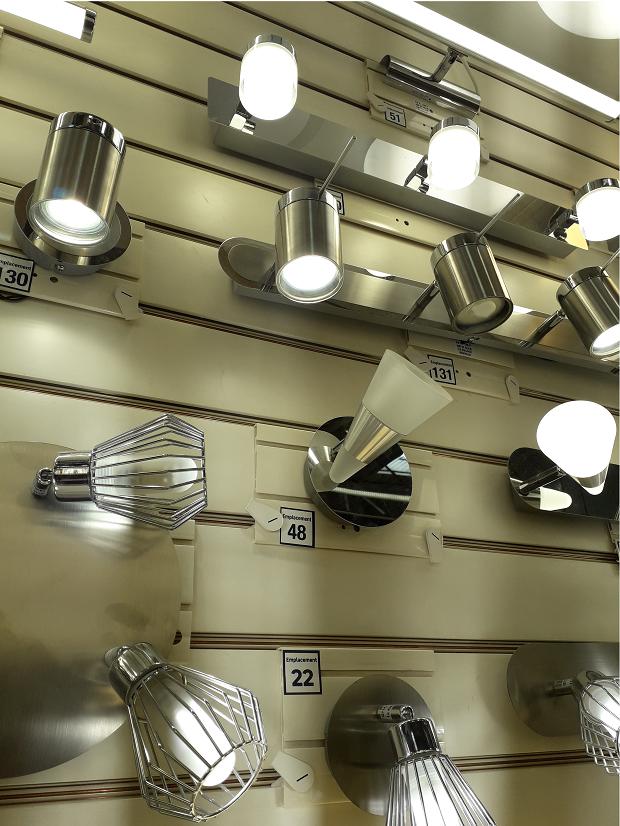 Rayon luminaire - LED intégrées